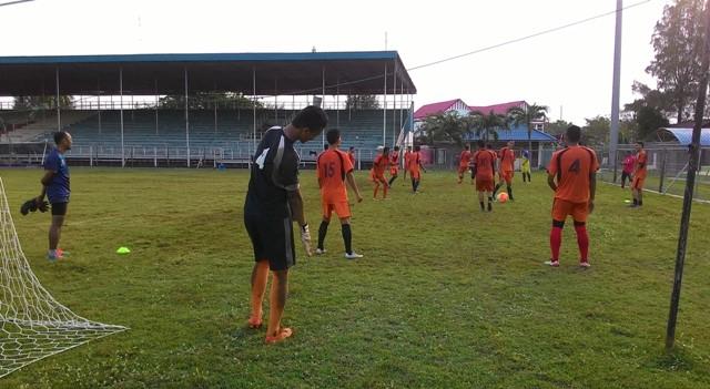 Persiraja Latihan ringan  | Foto: acehfootball-phonna