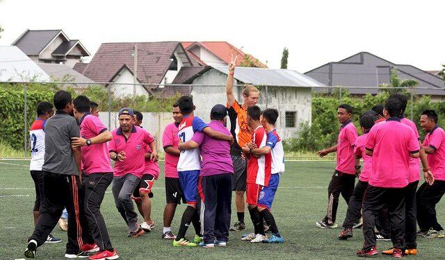 Salah satu kegiatan Uni Papua di Banda Aceh