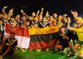 Street Soccer Indoensia-Lithuania Sepakat Juara Bersama kejuaraan Internasional Tafisa Games 2016. (Foto : Eko Densa)