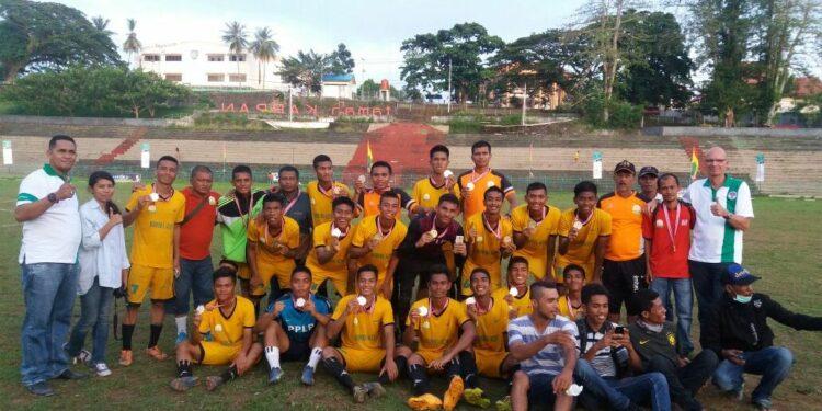 Skuat PPLP Aceh kembali meraih juara di Kejurnas PPLD se Indonesia di Maluku
