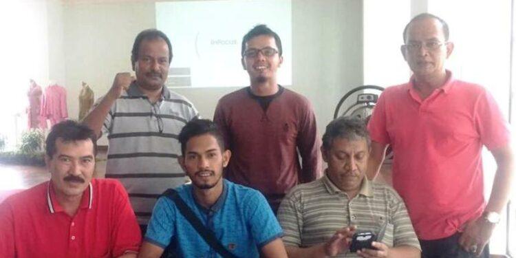 Martunis bersama panitia Refleksi 12 tahun Tsunami di Jakarta