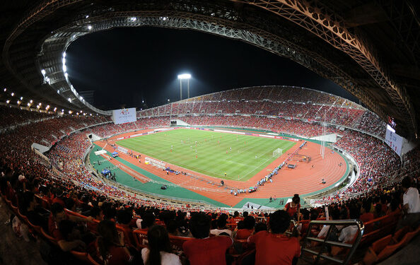 Rajamangala Stadium, kandang Timnas Thailand