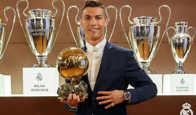 Ronaldo raih Ballon d'Or kempatnya