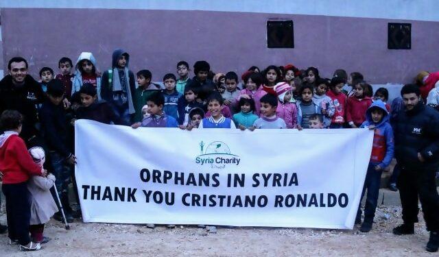 Anak Suriah Ucapkan Terima Kasih pada Ronaldo