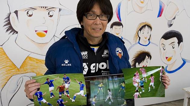 Kreator Captain Tsubasa, Yoichi Takahashi   foto via Nippon