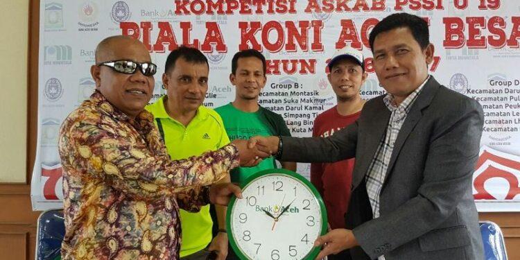Panitia siap menyukseskan Kompetisi U-19 Aceh Besar