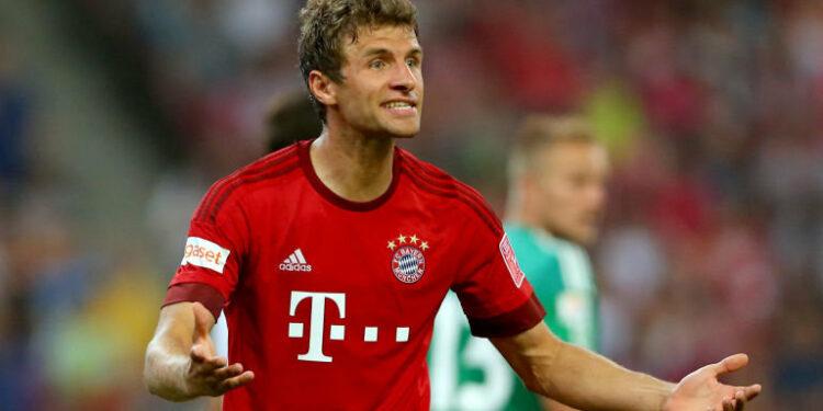 Thomas Muller, tersisih akibat taktik Carlo Ancelotti   Foto Skysport