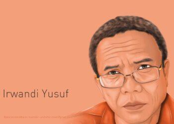Ilustrasi Irwandi Yusuf   Foto via Pikiran Merdeka-Nur Hadi