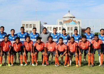 Pemain PSSB Bireuen dan Aceh United di Cot Gapu
