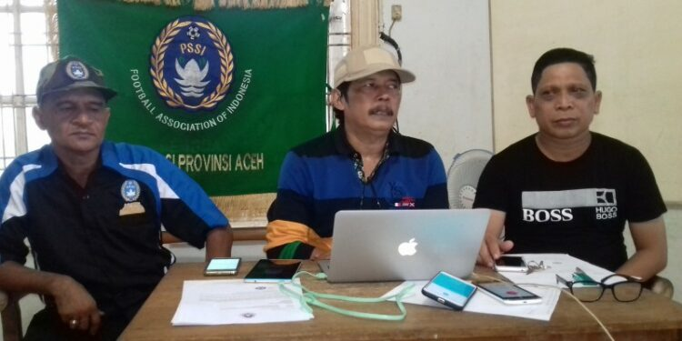 Adly Tjalok, Nazir Adam dan Khaidir TM   Foto RRI Banda Aceh/SA
