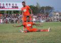 Assanur Rijal mencetak gol kedua timnya dengan cara cantik | Foto: Azin/acehfootball