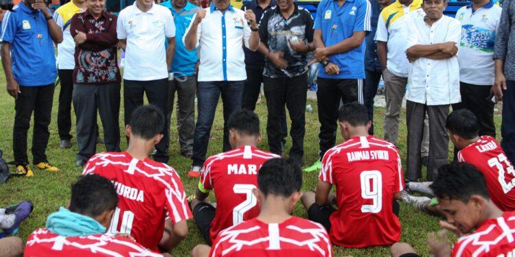 Bupati Aceh Besar memberi semangat