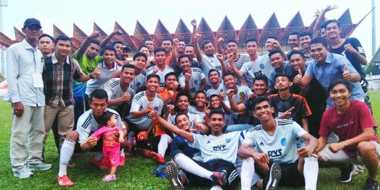 Skuad Persada Abdya di Liga Aceh 2018   Foto: Saed Agus