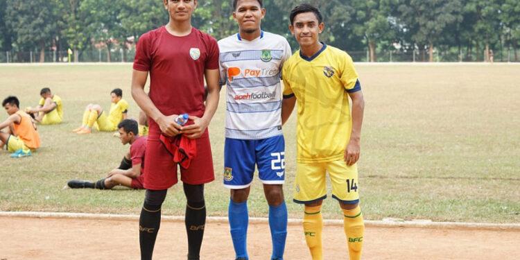 Tiga pemain Aceh yang sukses promosi musim depan
