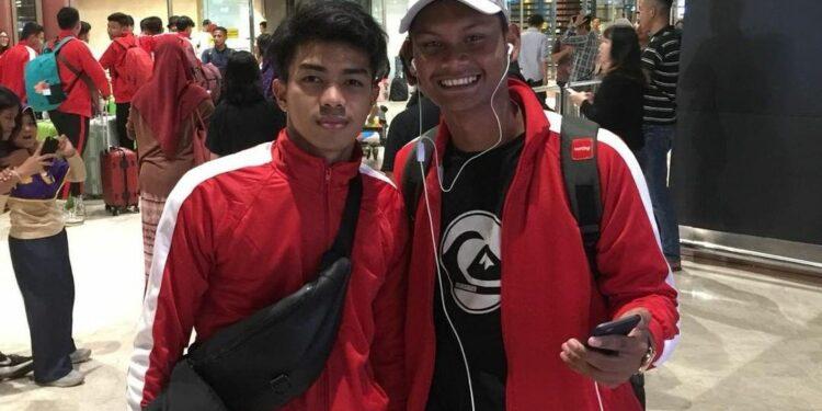 Amanar dan Reza, dua pemain Aceh di Garuda Select | Photo: Istimewa