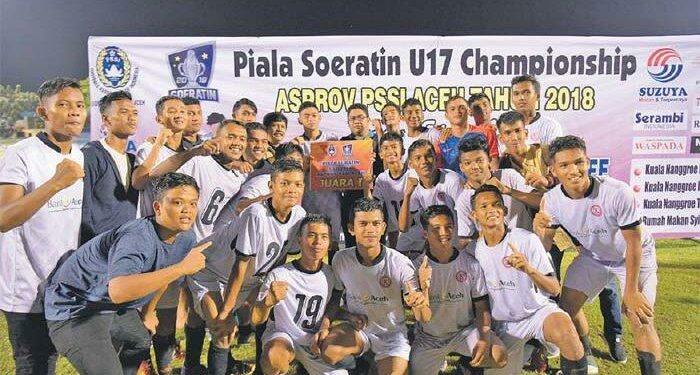 Pemain Kuala Nanggroe FC | Photo via Serambi Indonesia