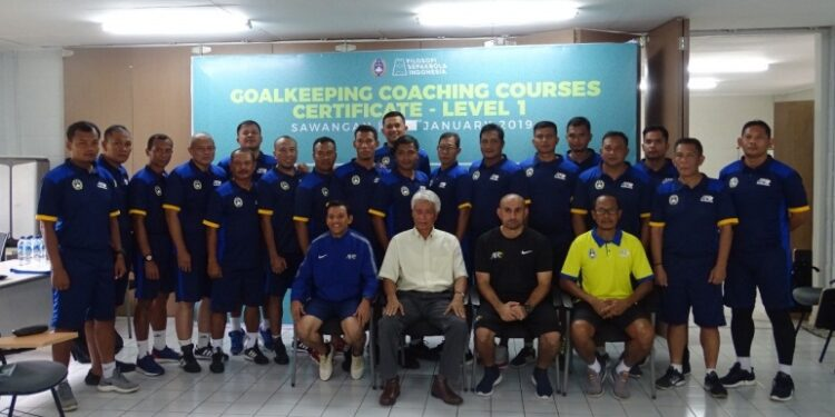 Para peserta kursus Lisensi AFC Level 1   Photo: pssi.org