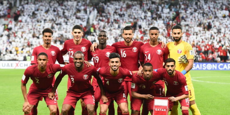 Timnas Qatar, hanya satu kali kebobolan   Photo internet