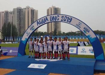 SSB Raja Bintang menjadi runner-up di partai puncak Piala Danone 2019