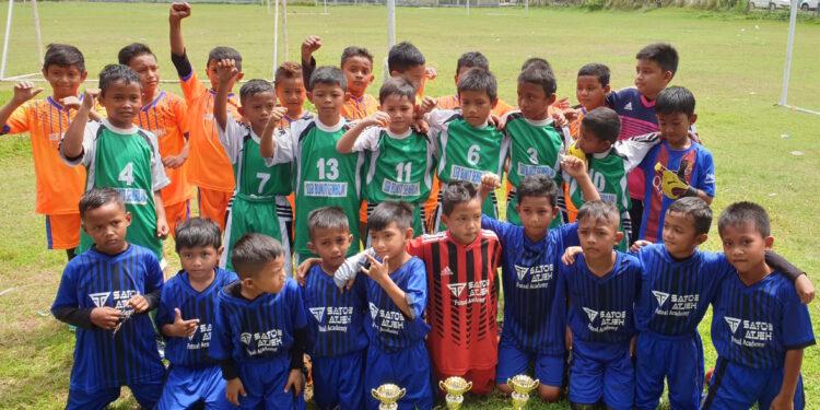 Tim juara Hananan Cup U-9   Foto panitia