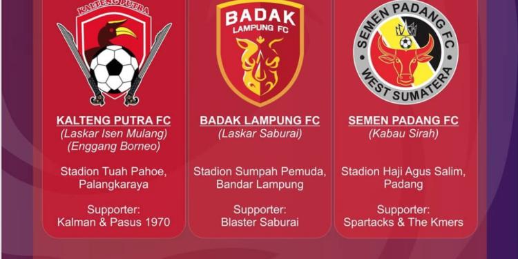 Dua tim asal Sumatera main di Liga 2 musim depan   desaingrafis Liga2match