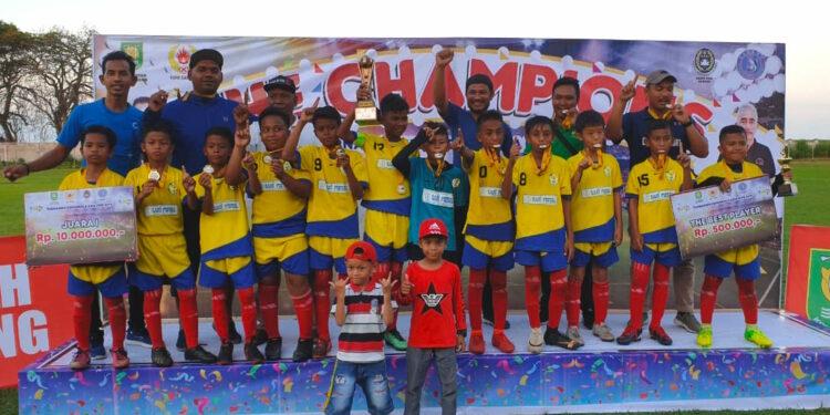 Talenta Aceh Football Academy juara Sabang Youth Cup U-11   Foto Istimewa