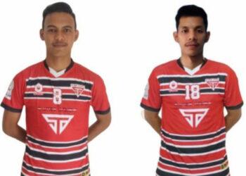 Muhammad Arianto (23) and Fahmi Angga (25), player Satoe Atjeh | Photo by Courtesy