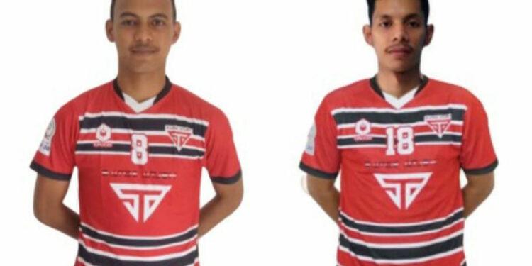 Muhammad Arianto (23) dan Fahmi Angga (25), pemain Satoe Atjeh   Foto Istimewa