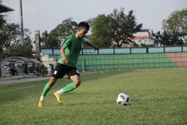Ikhwani Hasanuddin, berseragam PSMS Medan   Foto Instagram