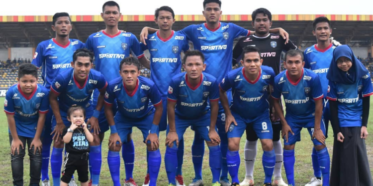 Pemain PSPS Riau musim lalu; Faumi dan Mursal di barisan depan   Foto Instagram