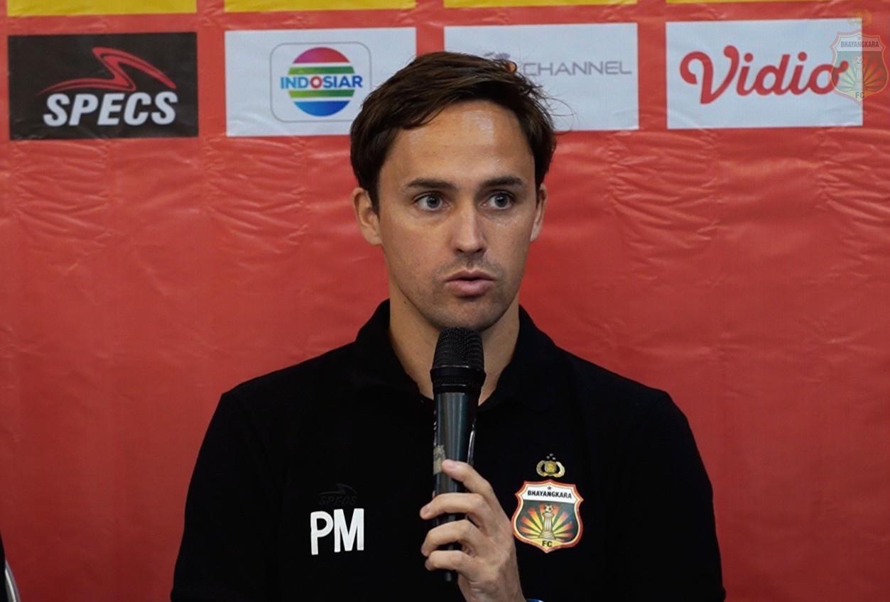 Pelatih Kepala Bhayangkara FC Paul Munster | Foto via situs klub
