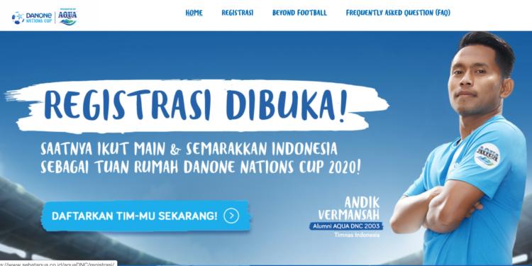 Aqua DNC 2020 kembali membuka registrasi peserta