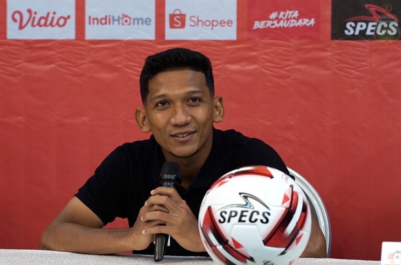 Pemain Aceh yang membela Bhayangkara FC TM Ichsan | Foto bhayangkara-footballclub.com