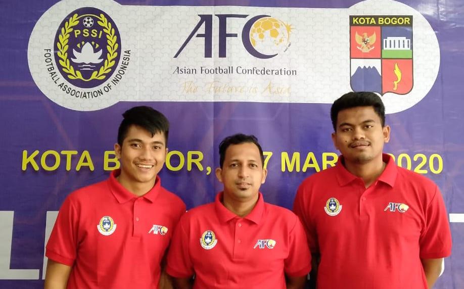 Tiga pelatih Satoe Atjeh ambil lisensi Asia | Foto Istimewa