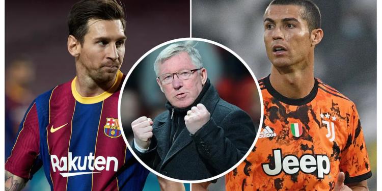Messi Vs Ronaldo, siapa Goat-nya? | Kolase Foto via Sport Bible