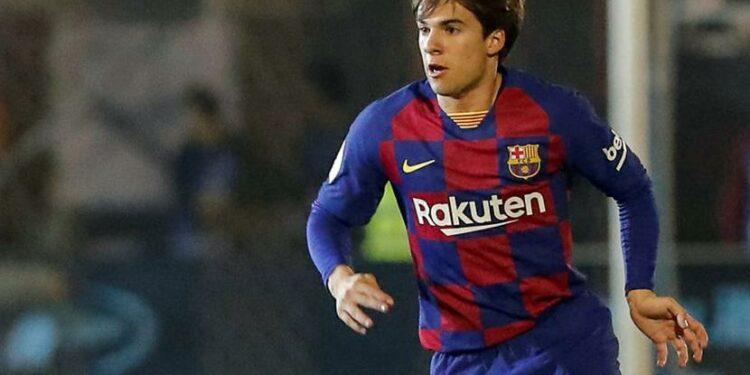 Gelandang Barcelona Riqui Puig.