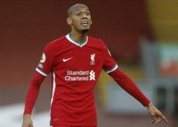 Liverpool midfielder Fabinho.