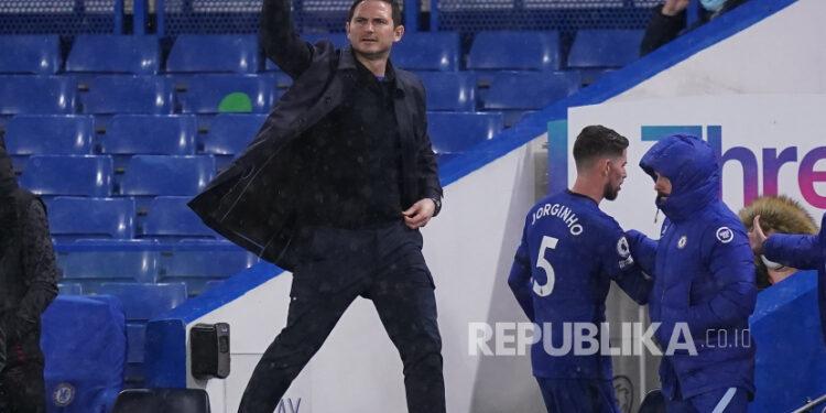 Pelatih kepala Chelsea, Frank Lampard
