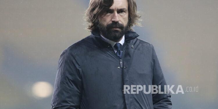 Pelatih Juventus Andrea Pirlo.