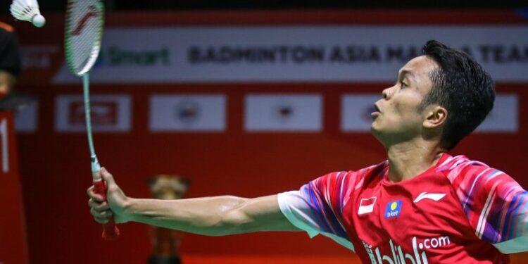 Anthony tak terkalahkan hadapi Heo di  babak pertama Thailand Open