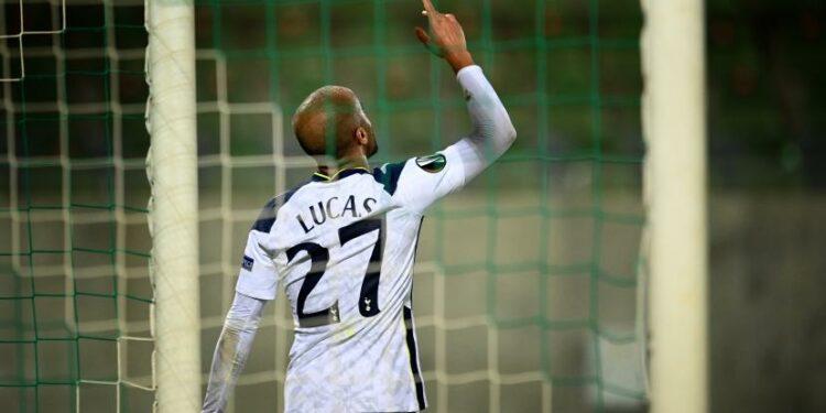 Striker Tottenham Hotspur Lucas Moura.