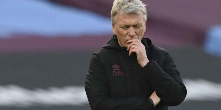 Pelatih West Ham David Moyes.