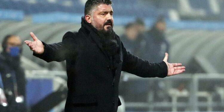 Pelatih Napoli, Gennaro Gattuso.