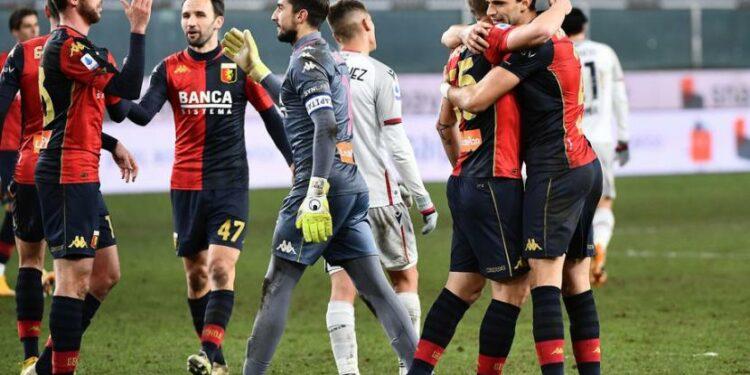 Genoa meninggalkan zona merah setelah menundukkan Bologna dengan skor 2-0 pada Sabtu (9/1).