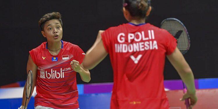 Greysia/Apriyani melaju ke babak dua Thailand Open