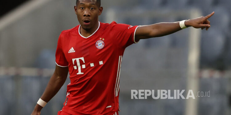 Bek Bayern Muenchen David Alaba.
