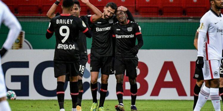 Leverkusen bangkit dari ketinggalan untuk menang 4-1 atas Frankfurt