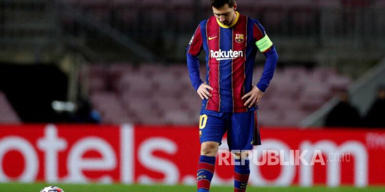 Striker FC Barcelona Leo Messi