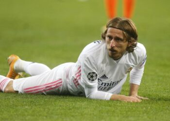 Luka Modric dari Real Madrid,