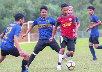Nasrullah alias Naim Costa gained control from the opponent | Photo sent by Muhammad Anuar bin Kamaruddin